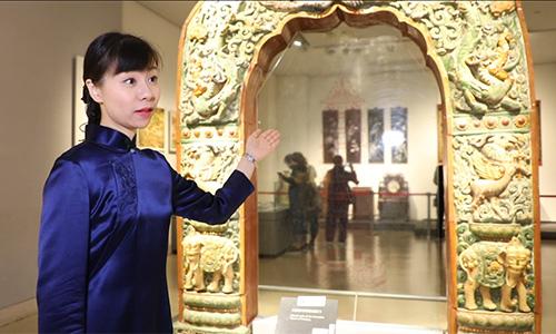 """國際博物館日:1分鐘欣賞文物""""南京最美的一扇門"""""""